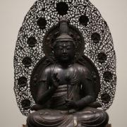 金銅聖観音坐像複製