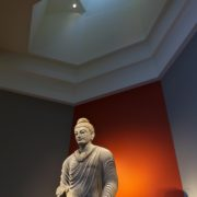 南アジア展示室 ガンダーラ仏立像